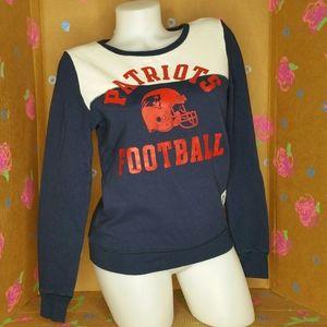 VS PINK Patriots Red, white & Blue Sweatshirt XS